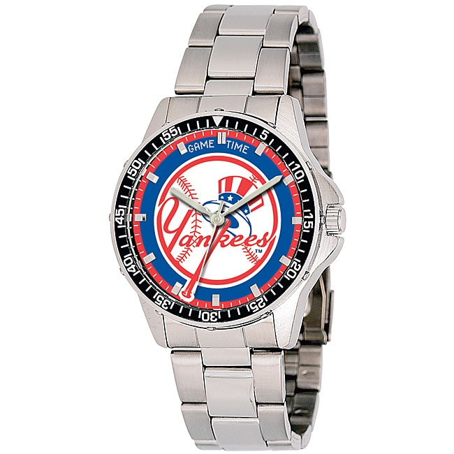 New York Yankees Top Hat Men's Coach Series Watch - Thumbnail 0