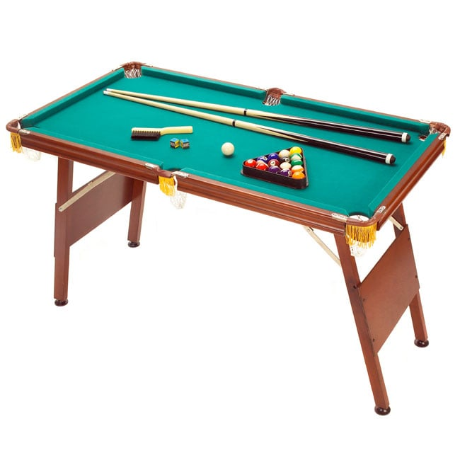 Thumbnail Halex 4 Ft. Billiards Table W Cues, Balls, Access ...