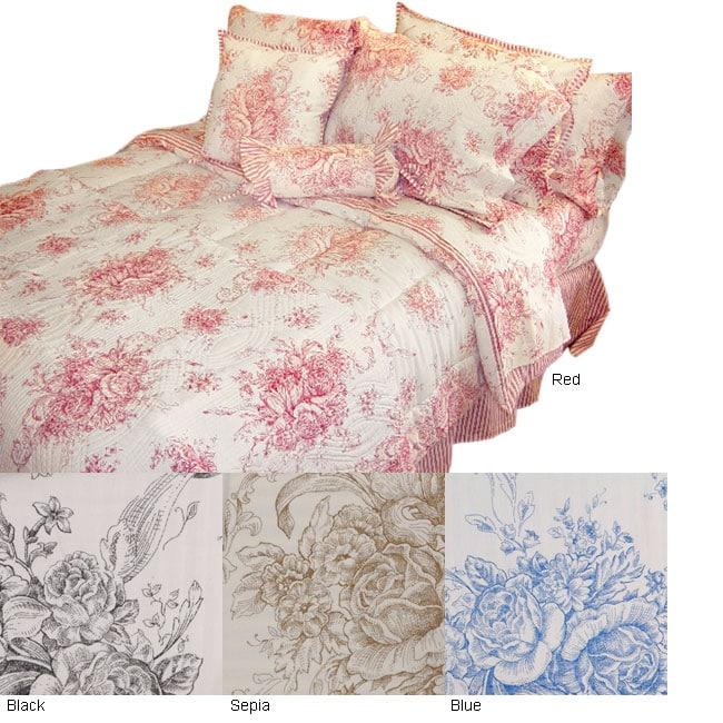 Toile Comforter Set