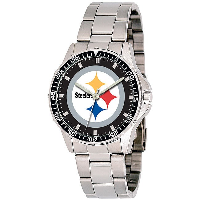 Pittsburgh Steelers NFL Men's Coach Watch - Thumbnail 0