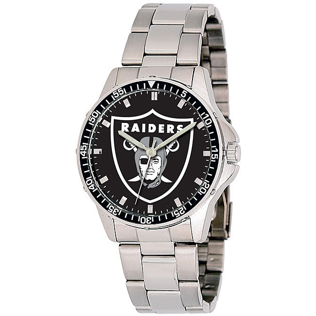 Oakland Raiders NFL Men's Coach Watch