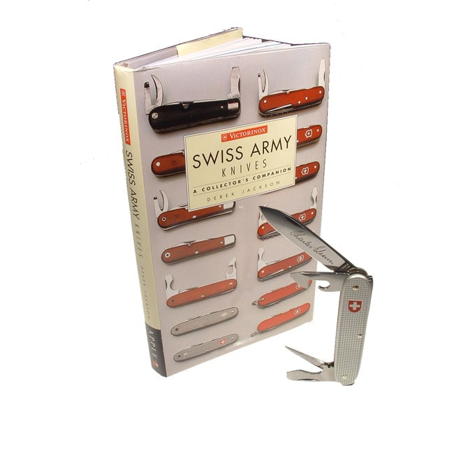 Swiss Army Soldier Knife w/ History Book Gift Set