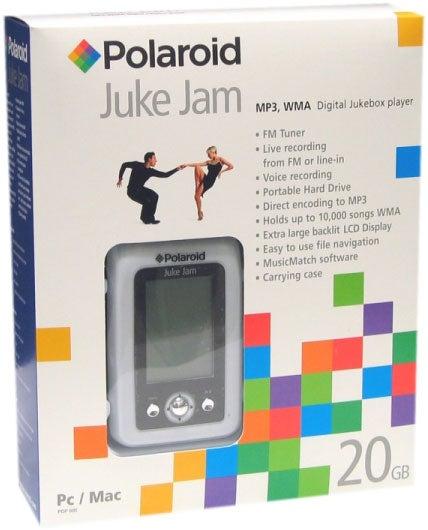 Polaroid Juke Jam 20GB MP3 Juke Box with FM Radio