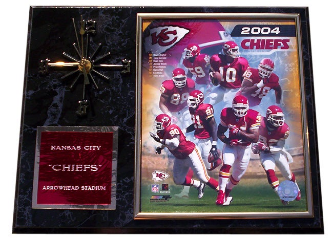 7a714be67 Shop Kansas City Chiefs Team Picture Clock - Free Shipping Today -  Overstock - 1088474