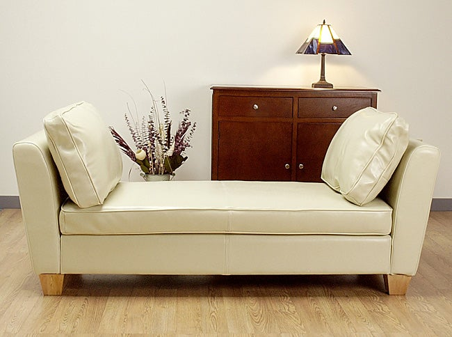 Shop Paris Creme Bench Daybed Free Shipping Today