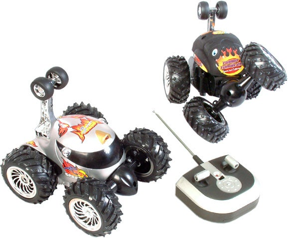 Remote Control Turbo Tumbler Race Car