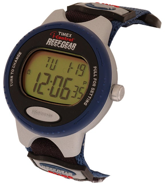 timex reef gear indiglo manual