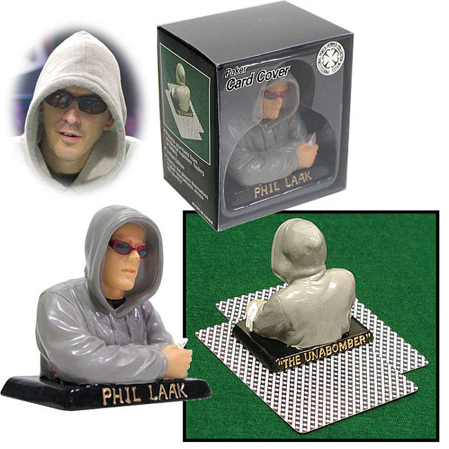 Phil Laak The Unabomber Texas Holdem Card Cover
