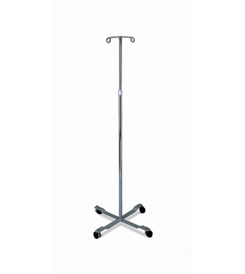 Medline Standard IV Pole for Solution Containers