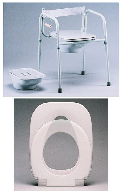 Shop TFI Elongated Seat 3-in-1 Commode with Splash Guard - Free ...