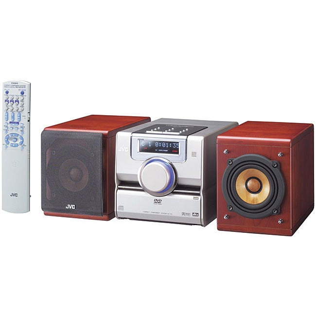 JVC EX-D1 DVD Audio/ MP3 Shelf Stereo System (Refurbished ...