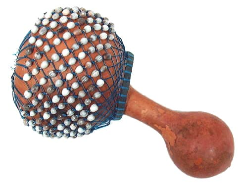 Handcrafted Shaker Musical Instrument (Ghana)