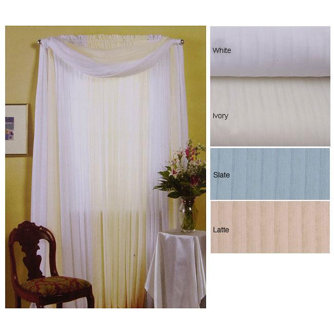 104 x 84-inch Shadow Stripe Curtain Panel Pair