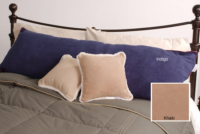 Dockers Microsuede Body Pillow