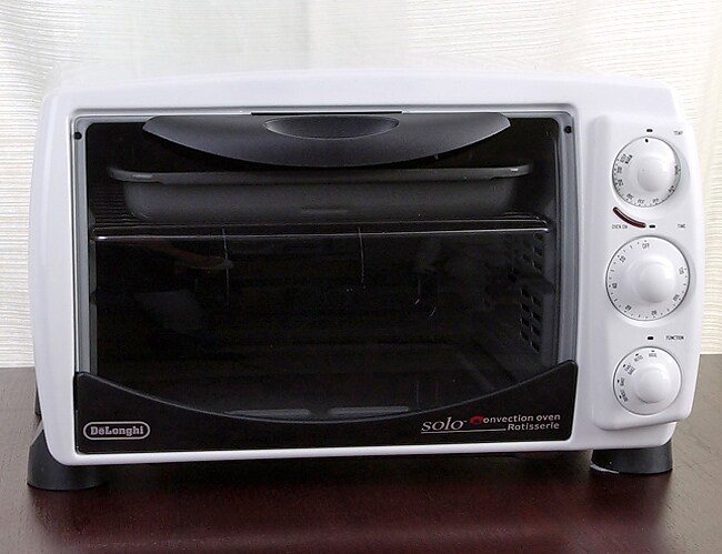shop delonghi as1070 solo convection oven with rotisserie free rh overstock com Euro-Pro Toaster Oven Wolfgang Puck Convection Oven