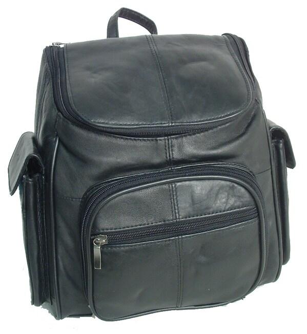Adi Designs Leather Flip-top Backpack (case of 3)