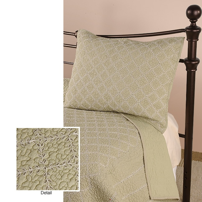 Garden Lattice Bedspread Set