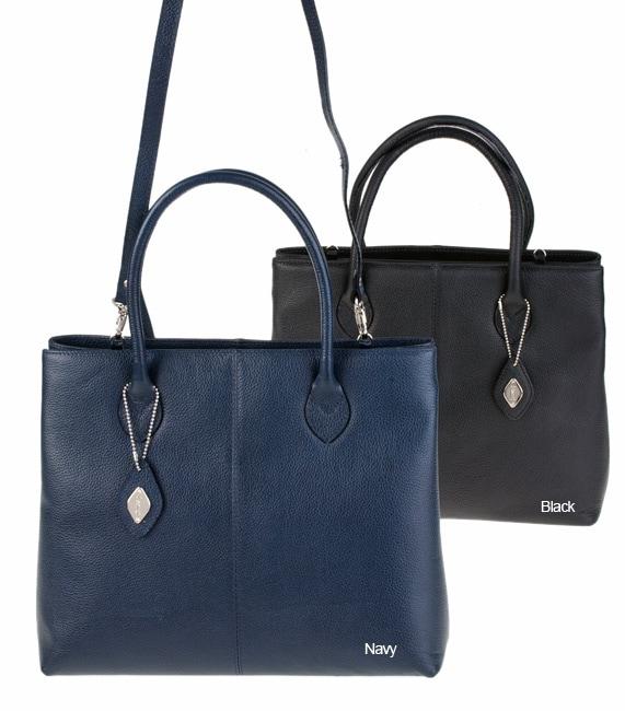 4732b90e7e80 Shop I Santi Savoy Leather Lady Handbag - Free Shipping Today -  Overstock.com - 1817181