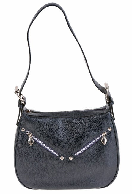 62daf62172ce Shop I Santi Diamant Leather Handbag - Free Shipping Today - Overstock -  1817205