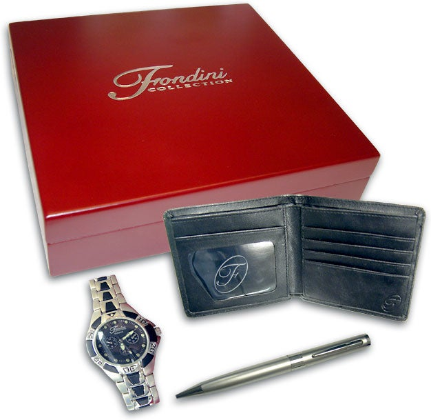 Fondini Watch, Pen, and Wallet Collection
