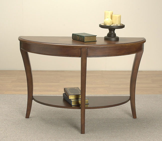 Half Round Sofa Table