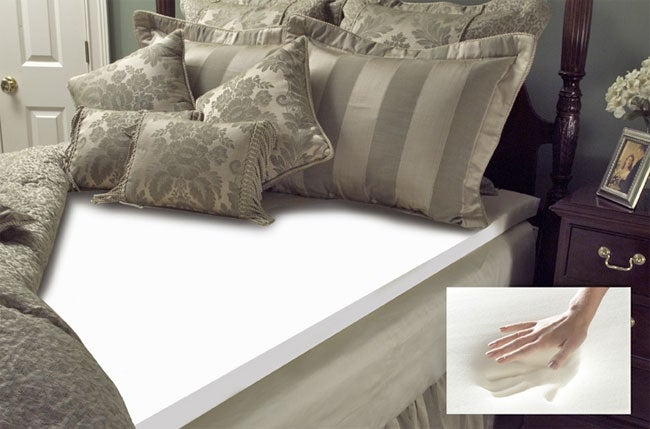 Memory Foam 4-inch Mattress Topper