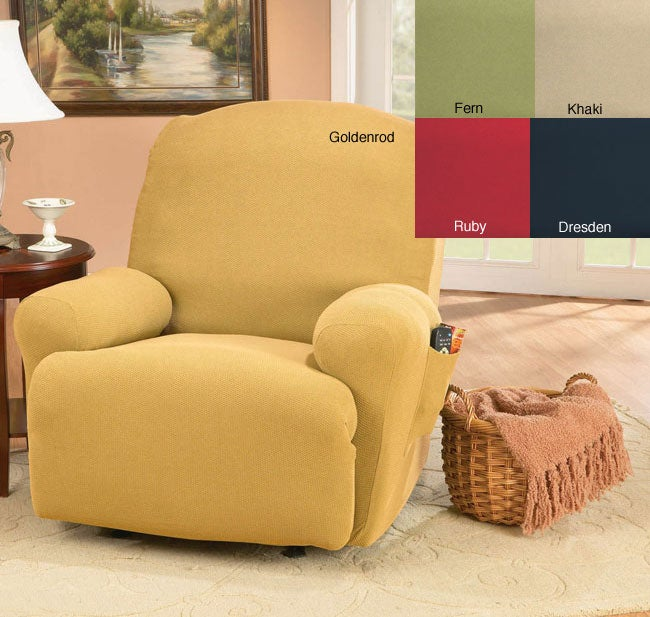 Sure Fit Large Regency Washable Recliner Slipcover Free