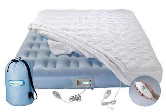 Aerobed Premier Intelliwarmth Air Bed Queen Free