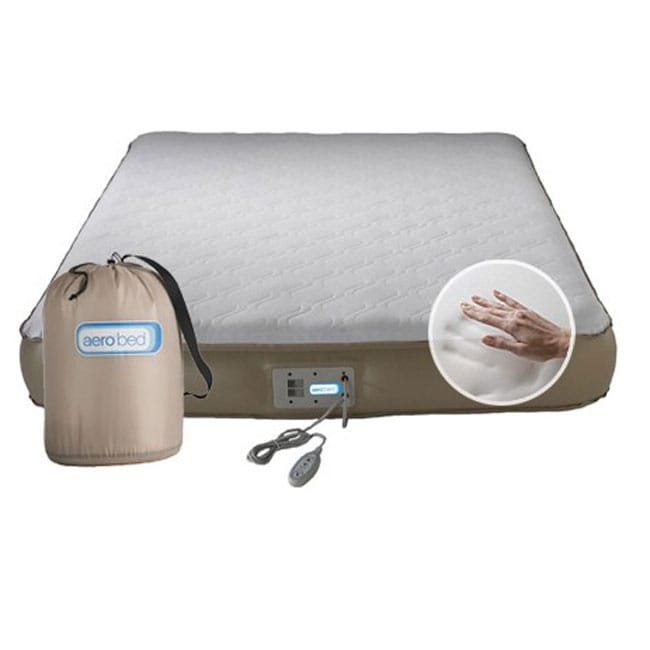 AeroBed Premier Memory Foam Air Full-size Bed - Free Shipping ...