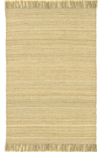 Hand-woven Jute Bleached Rug (8' Square)