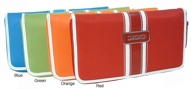 5bca1d8c1627 Shop XOXO Tangerine Dream Zippered Women s Wallet - Free Shipping On Orders  Over  45 - Overstock.com - 1856215