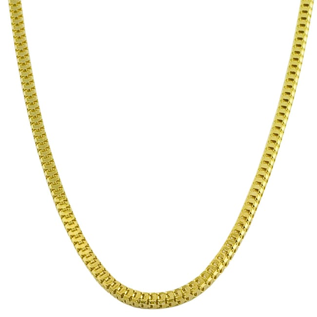 14k Gold 18-inch 2mm Box Chain Necklace