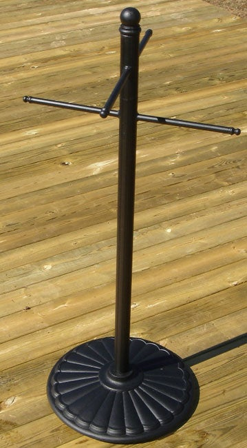 Cast Aluminum Outdoor Towel Rack Free Shipping Today