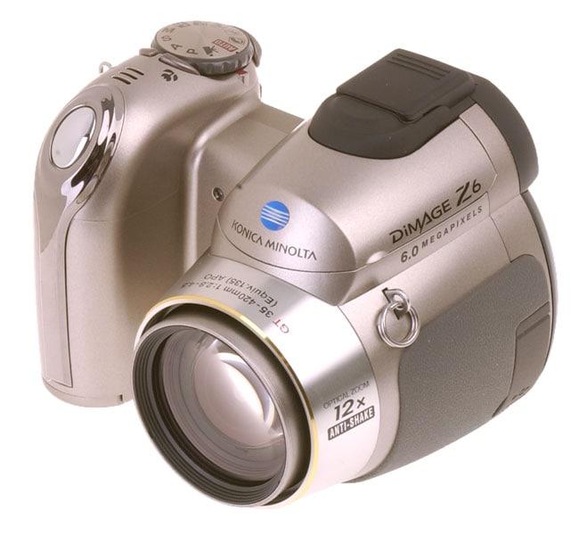 konica minolta dimage z6 60mp digital camera - Konica Minolta Digital Camera