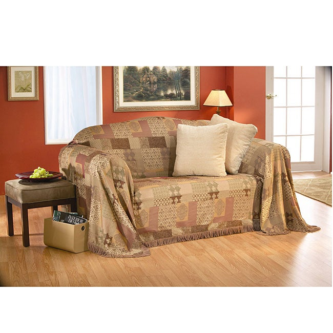 Gypsy Patch Throw Slipcover (90 inch)