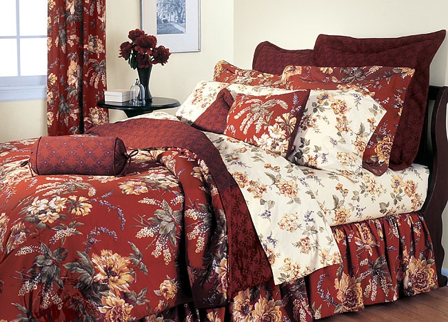 Mimosa Comforter Ensemble with 300 Thread Count Sheet Set