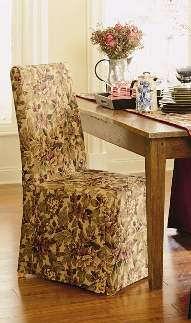 Ordinaire Windsor Tapestry Dining Chair Covers (Set Of Two)