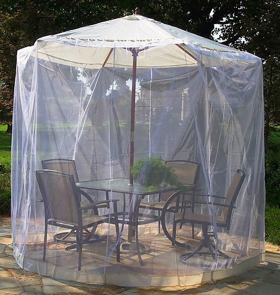 Natural Umbrella Mosquito Net (11 ft.)