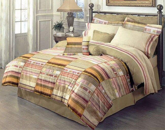 Adobe Sunset Bed in a Bag with 250 Thread Count Sheet Set