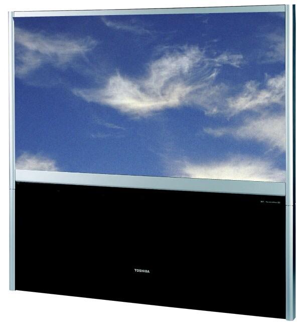 Toshiba 65h84 65 Inch Hd Ready Rear Projection Tv