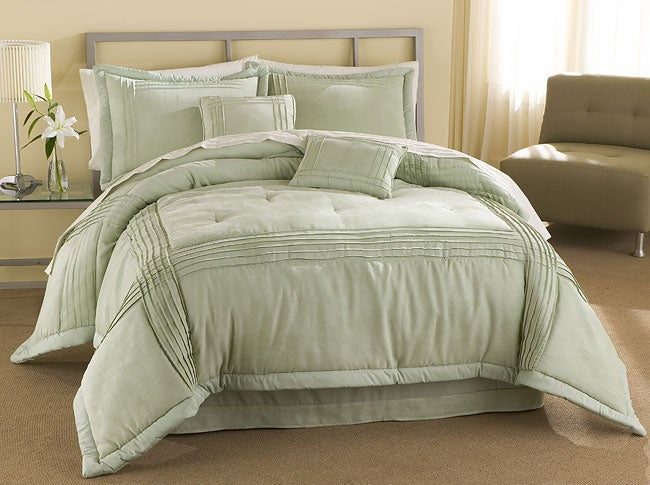 Austin Microsuede Comforter Set with 230 Thread Count Sheet Set