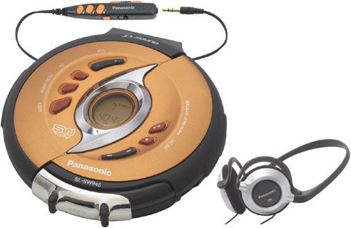 panasonic sl sw945 shockwave portable cd player. Black Bedroom Furniture Sets. Home Design Ideas
