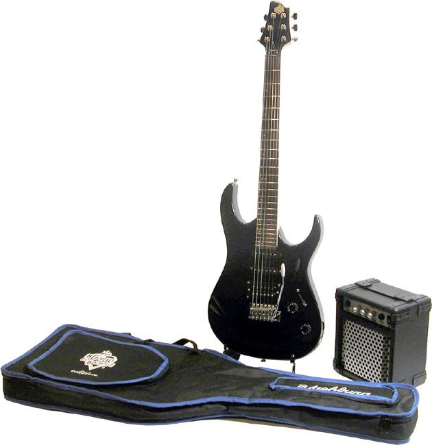 Shop Washburn House of Blues Electric Guitar with Amp (Refurbished ...