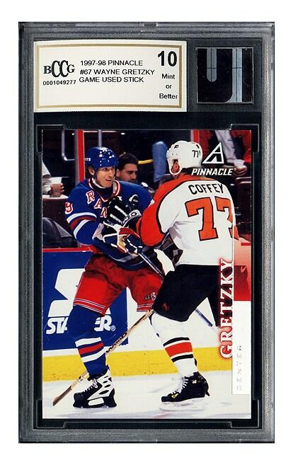 Wayne Gretzky Game Used Hockey Stick Mint 10 GGUM
