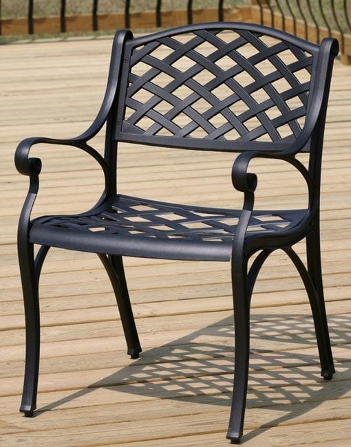 Nassau Cast Aluminum Patio Chair - Nassau Cast Aluminum Patio Chair - Free Shipping Today - Overstock