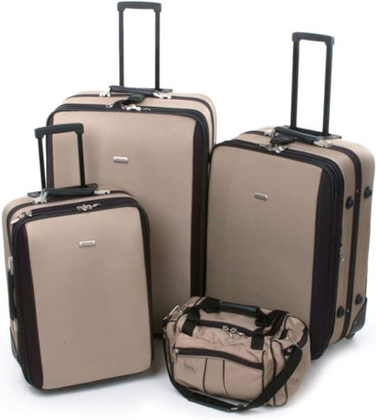 Boston Traveler Bentley Series 4-piece Luggage Set - Free Shipping ...