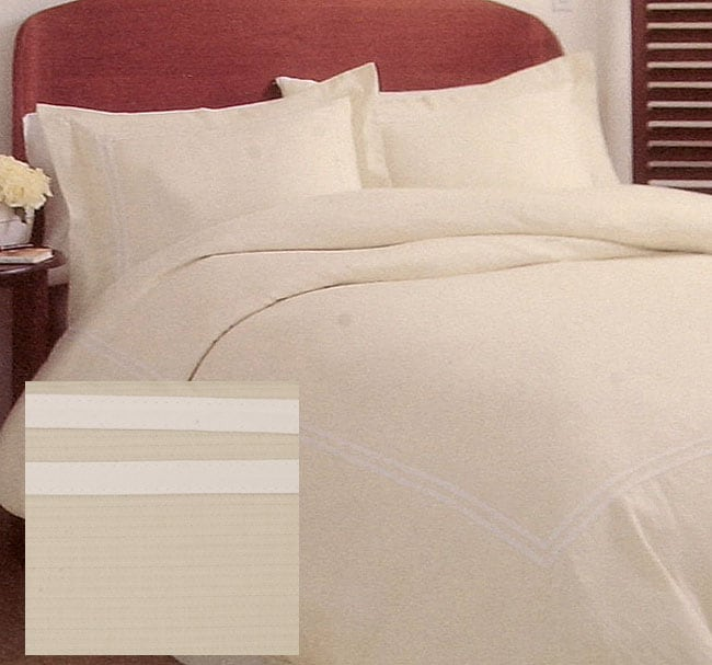 Hotel Collection Khaki Duvet Cover Set