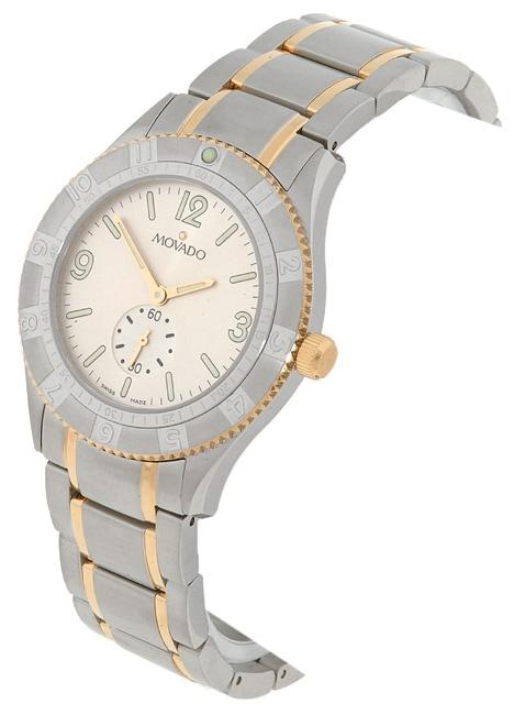 Movado Gentry Men's Two-tone Watch