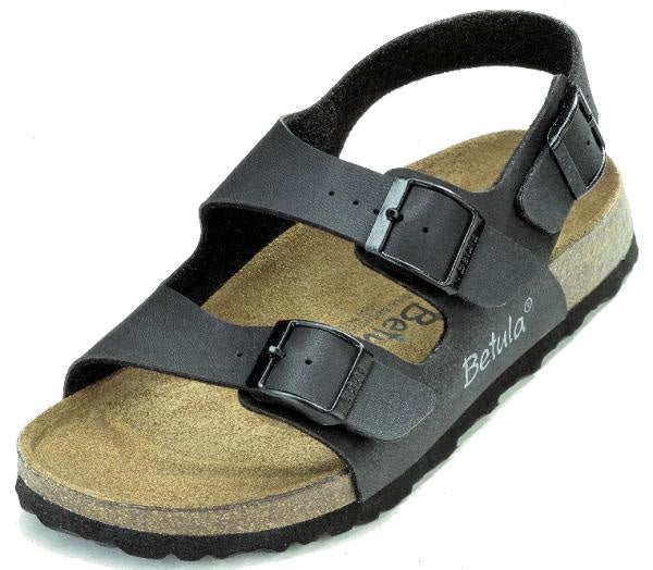 fa97580a5 Shop Betula Funk Unisex Black Sandal - Free Shipping On Orders Over  45 -  Overstock - 1435186