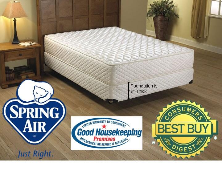 Spring Air Laurel Firm Mattress Set